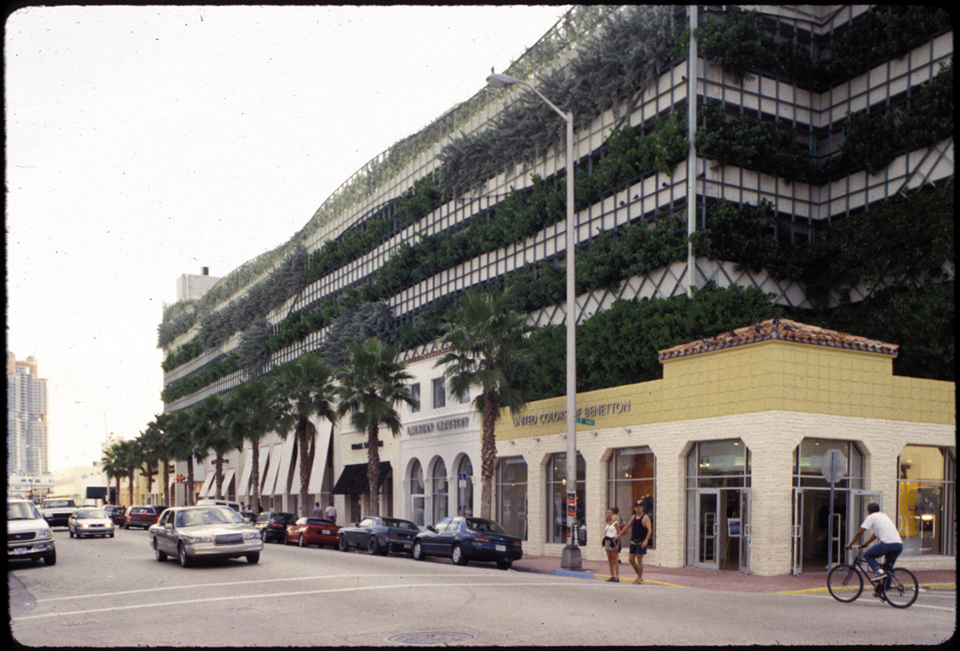 Miami South Beach Green Urbanist Parking Lot Arquitectonica Nov 1997